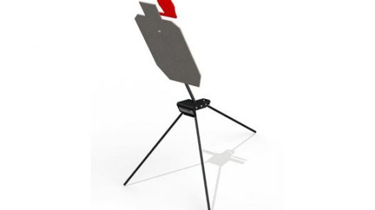 Range Systems Dura-Steel Target with tri-pod target stand