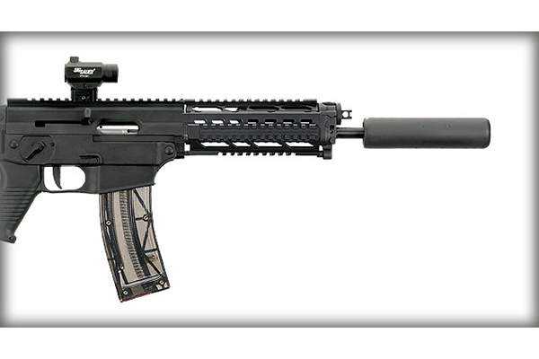 Making a Rim-pact: 13 New Rimfires in 2014 - SIG 522 SWAT and 938 conversion