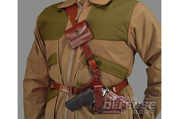 Hideaway Holsters: 8 Ways to Covertly Carry Your Weapon - Shoulder Carry