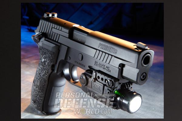 Sig Sauer P226 Elite SAO 9mm Handgun