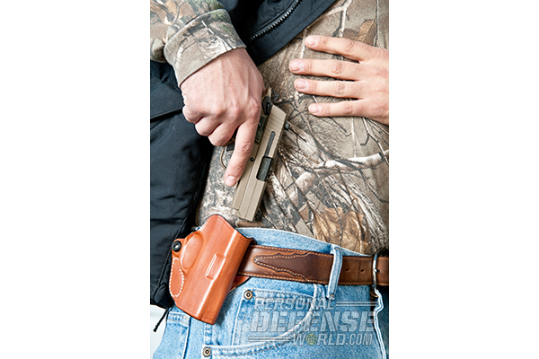 Hideaway Holsters: 8 Ways to Covertly Carry Your Weapon - Strong-Side Hip Carry
