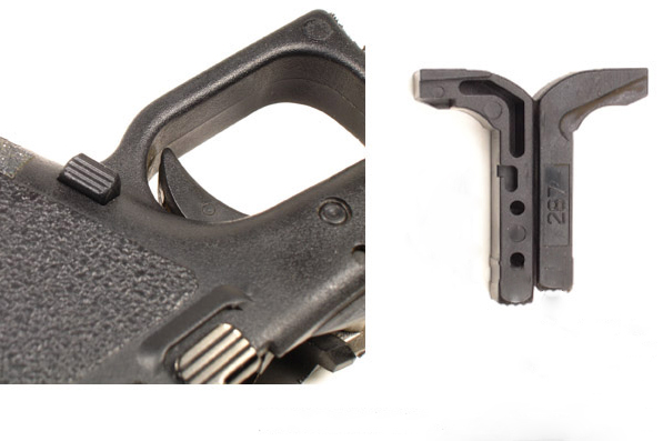 10 Ways to Customize Your Glock - Vickers Tactical Extended Magazine Release