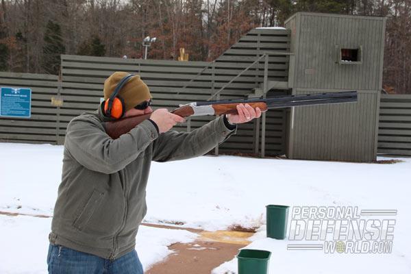 Holding the Shotgun