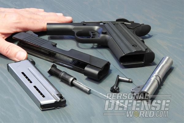 9mm nighthawk T4 Disassembled