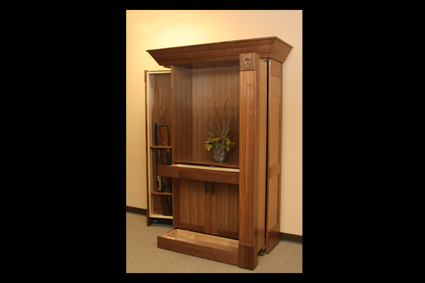 Creative Design's Criswell Concealment Collection Bookcase