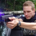Glock 22 officer beane levels his glock 22