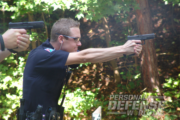 Glock 22 officer beane shooting