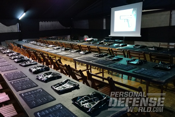 Glock military law enforcement classroom