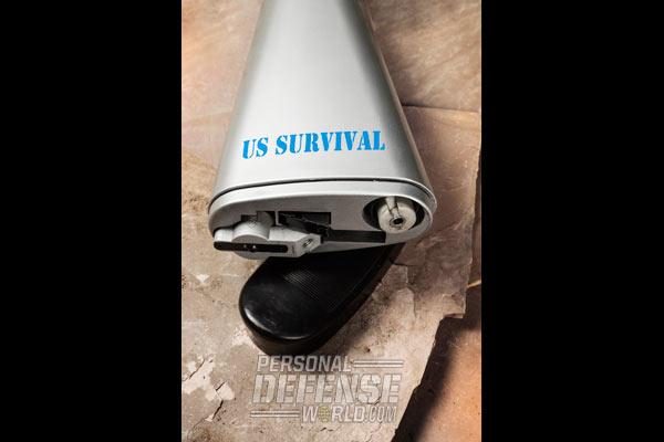 Henry U.S. Survival AR-7 dismantled uncasing