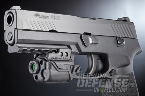 Sig Sauer P320 9mm with Crimson Trace CMR-203