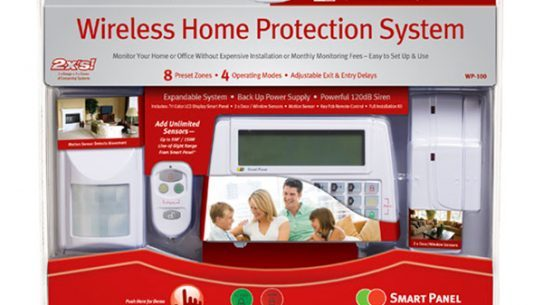 The SABRE Wireless Home Protection System