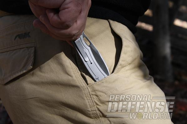 A.G. Russell Skorpion Folding Pocket Knife