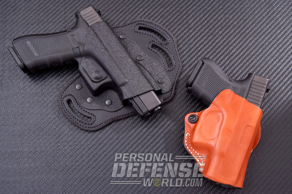 Concealed-Carry 101   DeSantis Intimidator and Mini Scabbard