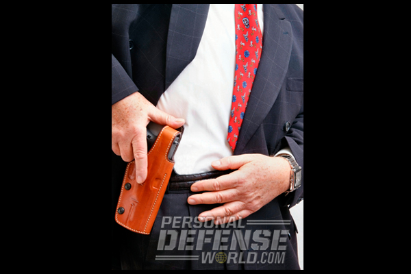 Concealed Carry 101   Galco FED Paddle Holster