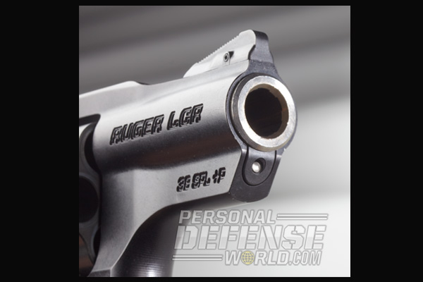 Ruger LCRx .38 Special | Muzzle