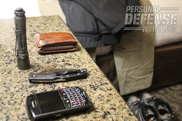 Having a potent second-best option is very important. Alternative weapons that can be conveniently and discreetly carried include knives, Kubotans, pepper spray and stun guns.