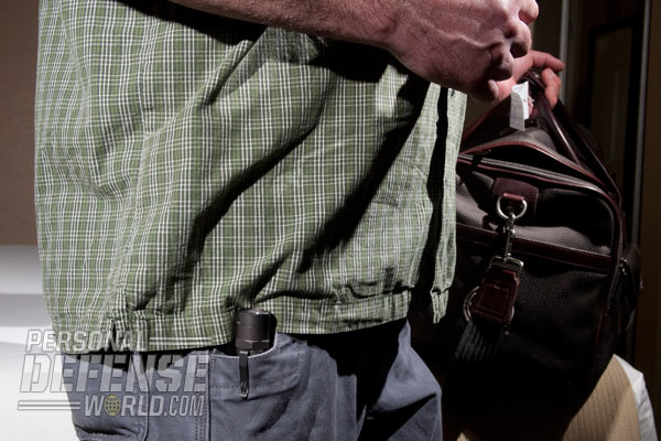 Although checking a bag takes slightly more time at each end of the flight and may involve some extra expense, it does allow you to travel with self-defense tools.