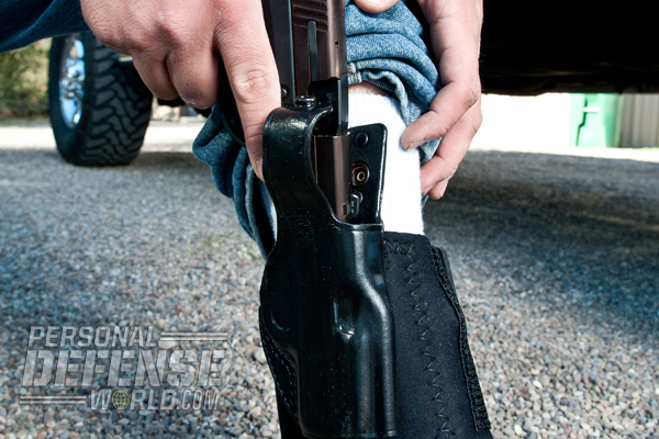 Concealed Carry Methods: Ankle Carry