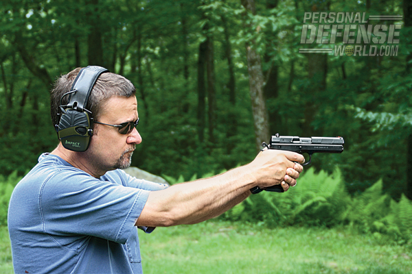 """""""The 97 B is not meant to be a pistol for bullseye competition, though in action-shooting sports it would do well."""""""