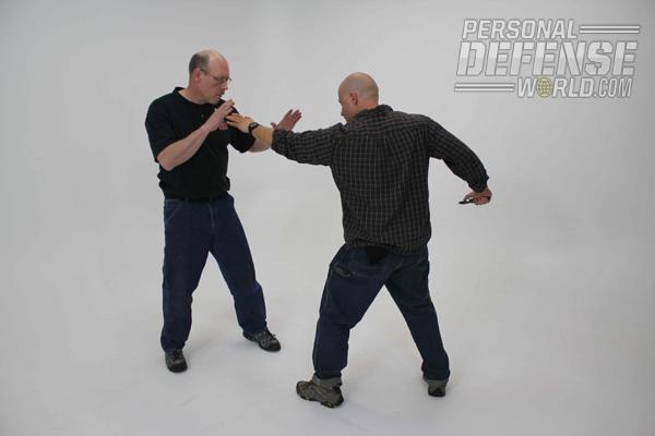 Close-Quarters Counterstrikes: Overarm Control