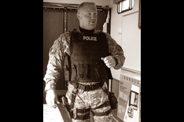 Officer Corey Roberts (Photo Credit: Tactical Insights LLC)
