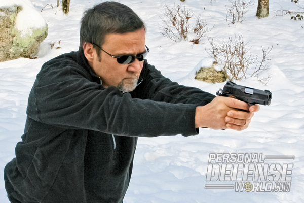 """""""In use, the small Kimber Ultra Raptor II was deadly accurate with manageable recoil, even with ball ammo."""""""