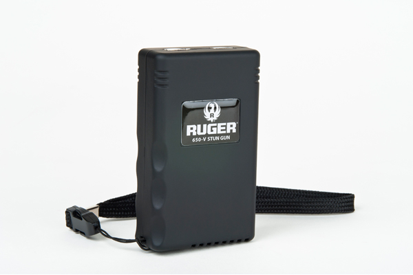 The Ruger 650V stun gun packs a lot of power while still easily fitting into your purse or pocket.