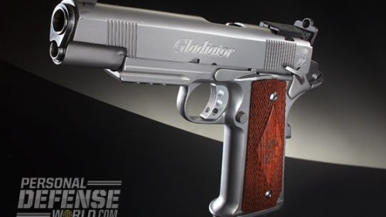 """""""Maximus Arms began in 2010 with the idea of building an 'improved' single-stack 1911 pistol. Looking at materials used to make the M1 Abrams tank, it settled on 17-4PH stainless steel...[I]t should provide for a very long service life in a 1911 pistol."""""""