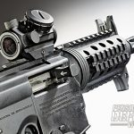 Adding a red-dot-style optic to the 715P is very easy due to the built-in Picatinny rail.