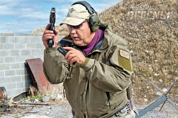 """""""I purchased the Sig P226 SAO for use as a duty pistol during department training, but I carried it concealed, and still do."""""""