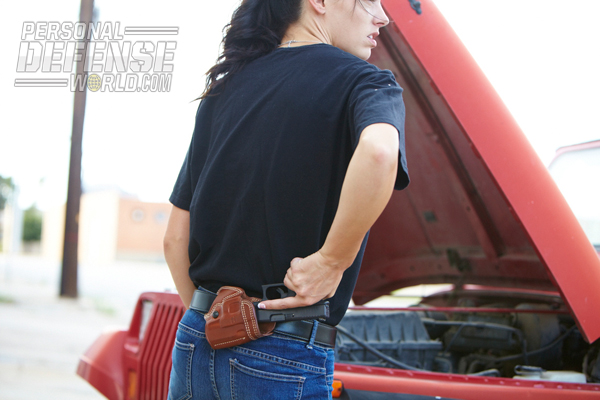 Women are ready to give up the dream of a knight in shining armor for a new reality with their own shiny, stainless 1911 holstered on their hip!