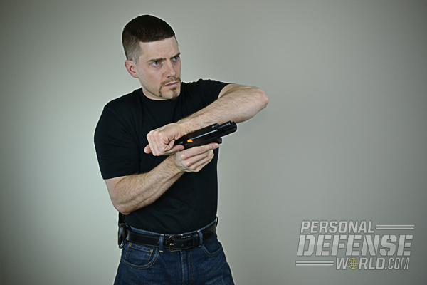 When your handgun goes down, don't think. React!