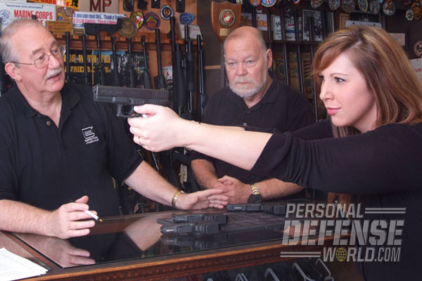 The right gun is a personal choice. It's important to take the time to find the rifle, shotgun or handgun that best suits your needs and abilities.