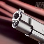 The stainless steel barrel features a flush-cut reverse crown.