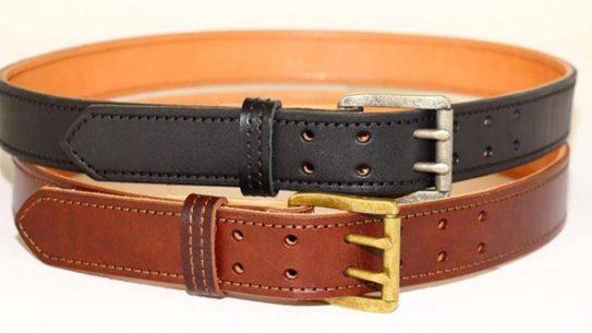 Amerihide's Double Prong Dual Layer Leather Gun Belt