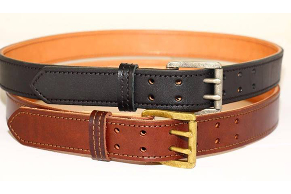 Amerihide's Double Prong Dual Layer Leather Gun Belt