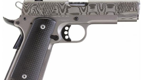 Christensen Arms announced that all frames and slides for their line of stainless and titanium 1911 pistols will be manufactured in-house.