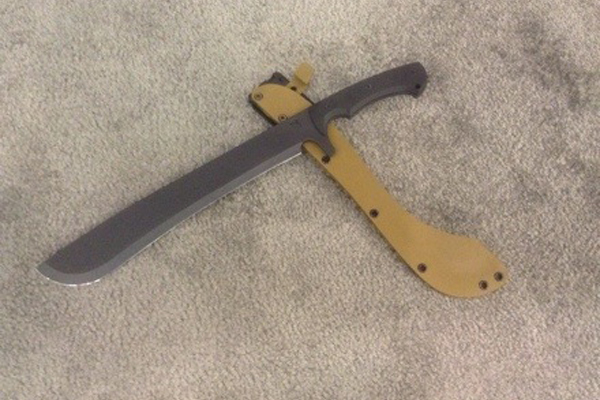 Medford Knife & Tool - Tactical Machete 1 (Credit: Soldier Systems)