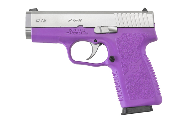 Kahr's purple CW9