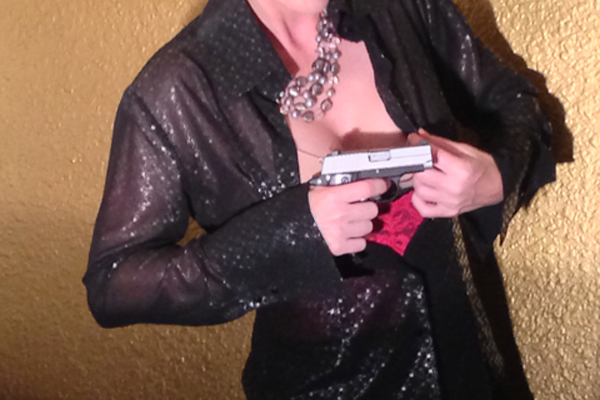 Femme Fatale's Lace Corset Holsters