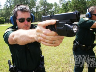 """According to the SJSO police officers interviewed, GLOCKs are """"comfortable,"""" """"reliable,"""" """"lightweight,"""" and """"great"""" guns."""
