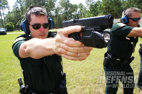 "According to the SJSO police officers interviewed, GLOCKs are ""comfortable,"" ""reliable,"" ""lightweight,"" and ""great"" guns."