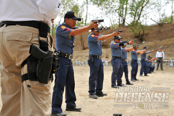 """Provided along with its pistols is GLOCK's vaunted """"train the trainer"""" instruction program, which teaches shooting methods and tactics to nearly 100 PNP firearms instructors."""