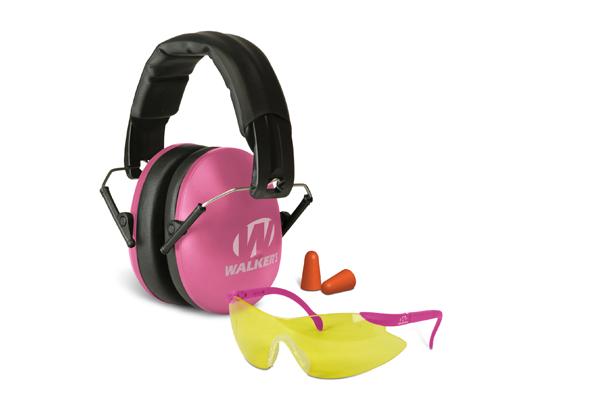 Walker's Game Ear: Pink muff / glasses Passive Combo