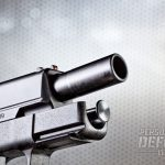 """With its longer barrel, the 4.0"""" XD-S offers superb combat accuracy and handling."""