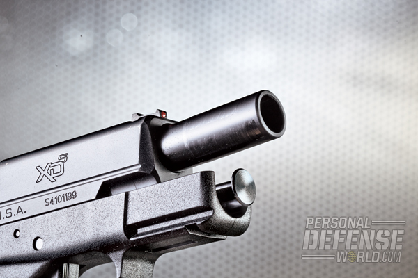 "With its longer barrel, the 4.0"" XD-S offers superb combat accuracy and handling."