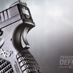 Along with the trigger safety, the XD-S sports a 1911-style grip safety.