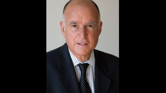 California Governor Jerry Brown signed AB 1964 into law on Friday. (Photo: Wikimedia Commons)