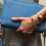 Concealed Carrie: Cool Blue Leather Compact Carrie