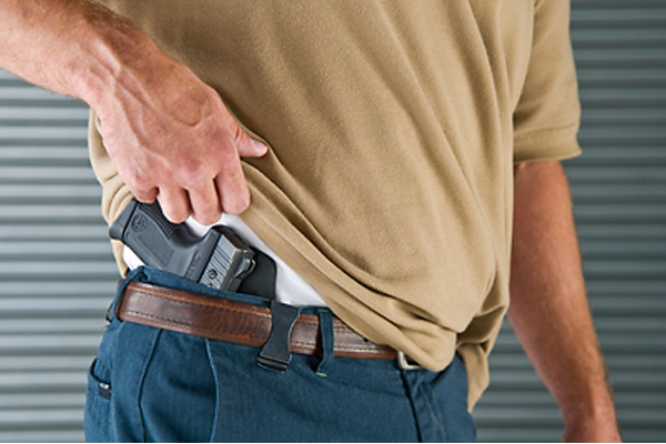 A Florida concealed carrier pulled his gun to break up a fight. (Photo: ConcealedNation.org)
